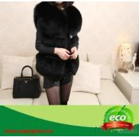 Real Fox Fur Winter Women Coat