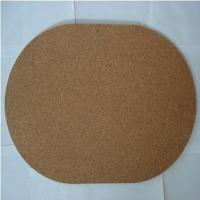 Oval-shaped Cork Placemat