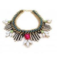 New arrival latest design european fashion jewellery diamond studded choker necklace