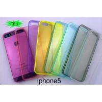 Wholesale ultrathin colorful glossy and clear tpu soft case for iphone5 from china suppliers