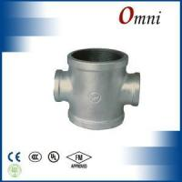 Malleable iron pipe fitting Crosses,reducing
