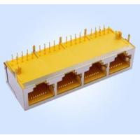 Wholesale RJ45 Modular Jack 1*4 10P8C Shielded from china suppliers