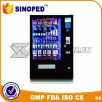 Wholesale Automatic Snack Digital Drink/Sandwich/Snack/Salad Outdoor Condom Vending Machine from china suppliers