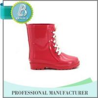 Wholesale China Manufacturer Environmental solid pink cute lace rubber boot from china suppliers