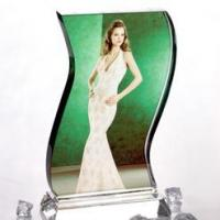 Wave Crystal Photo Personalised 3D Gift Idea