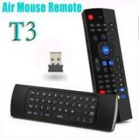 Fly air fly Mouse T3 Keyboard with Ir learning function,Air fly mouse remote