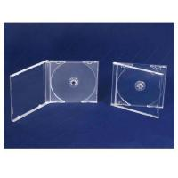 China CD CASES 10.4mm jewelry PS single clear cd case on sale