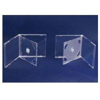 China CD CASES 10.4mm double cd case clear on sale