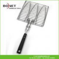 Wholesale QGN0218 Three Fishes BBQ Stainless Steel Grill Net from china suppliers