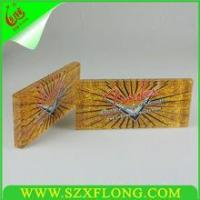 Wholesale Desktop acrylic sign block ,cheap glass paperweight from china suppliers