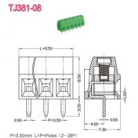 Wholesale Euro Terminal Blocks -- TJ Series TJ381-08 from china suppliers