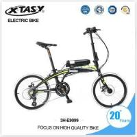 Wholesale XTASY Chinese MINI folding electric bike from china suppliers