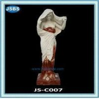 Buy cheap decorative colorful life-size marble statue from wholesalers