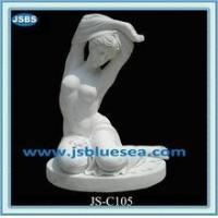 Buy cheap indoor decorative marble nude women statue from wholesalers