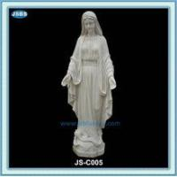 Buy cheap Statue white marble statue of mother mary from wholesalers
