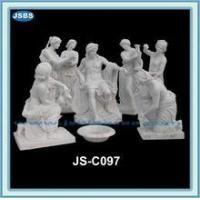 Buy cheap Statue natural stone hand carved large outdoor sculptures from wholesalers