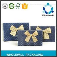 Customized Recycled Gift Paper Packaging Box