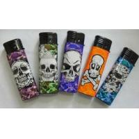 Wholesale Electronic Lighters Windproof turbo lighter, wrapped with pvc from china suppliers