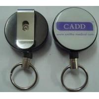 Buy cheap key chain reel with carabine from wholesalers