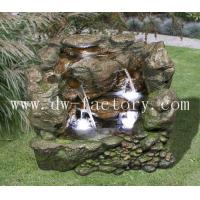 Wholesale Classic Stone Grain  37'' Stacked Stone River Foutain Number: DW35019 from china suppliers