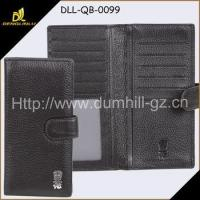 Wholesale Wallet and Purse Faux Leather strap closure long wallet For Businessmen from china suppliers
