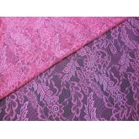 Wholesale Light hollow gauze 100%nylon leaf lace fabric textile in Guangzhou market (CY-DN0007) from china suppliers