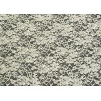 Water Soluble Brushed Lace Rayon Nylon Spandex Fabric For Upholstery CY-LQ0028