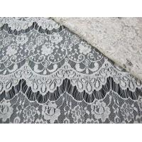 Wholesale Thin hollow nylon eyelash French lace scalloped lace fabric for lady garment(CY-DN0002) from china suppliers
