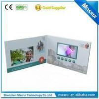 4.3 Inch Video Greeting Card ,Video Brochure , TV In a Card