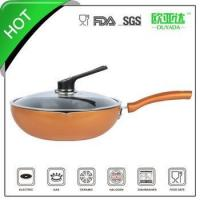 Wholesale aluminum ceramic wok from china suppliers