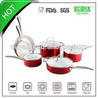 Wholesale 10pcs chinese aluminum ceramic cooking pot from china suppliers