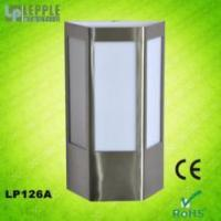 Wholesale New design E27 socket IP44 waterproof modern stainless steel garden outdoor wall light from china suppliers