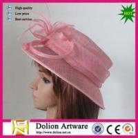 China fascinator hat bridal for decor on sale