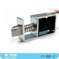 Wholesale DC 24V Open Frame Spring Load Pull Door Lock Solenoid Electromagnet UE-0831S-24A from china suppliers