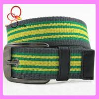 Wholesale Fashion Neon Strap Metal Canvas Belt from china suppliers