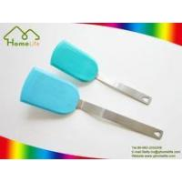 Wholesale Colorful silicone turner with metal handle from china suppliers