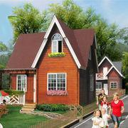 Prefabricated wooden houses B002 Prefabricated wooden house/ log house