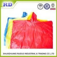 PE DISPOSABLE EMERGENCY PONCHO