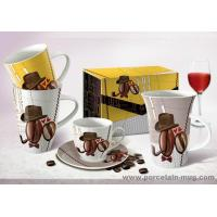 Wholesale Dinner set Fine porcelain trump mug from china suppliers