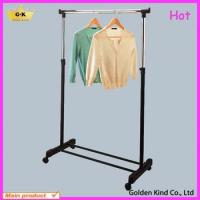 Wholesale Metal frame one pole adjustable clothes drying rack from china suppliers