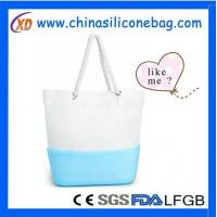Silicone Bag silicone and canvas bag