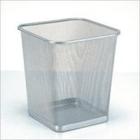 Wholesale Square Trash Can(Silver)(LD01-129) from china suppliers