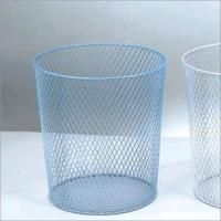 Wholesale Trash Can-Middle-Mesh Bottom (Blue or White)(LD01-508-4) from china suppliers