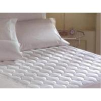 Wholesale Quilted mattress protector Flame-retardant filled mattress protector from china suppliers