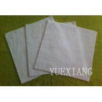 Buy cheap Microfiber Cleaning cloth Microfiber cloth with ultrosonic cutting edge from wholesalers