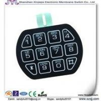membrane switch digital electronic membrane switch combination lock membrane keypad of item. Black Bedroom Furniture Sets. Home Design Ideas