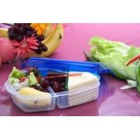 Wholesale Plastic lunch box 3 compartments from china suppliers