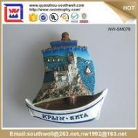 Wholesale Popular Stylish Decoration Customized 3D Resin Country Souvenir Fridge Magnets from china suppliers