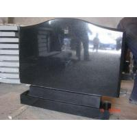 Wholesale Stone products BlackGraniteTombstone from china suppliers