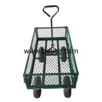 Wholesale High Quality New-style Steel Meshed Garden Tool Cart TC1840RD from china suppliers